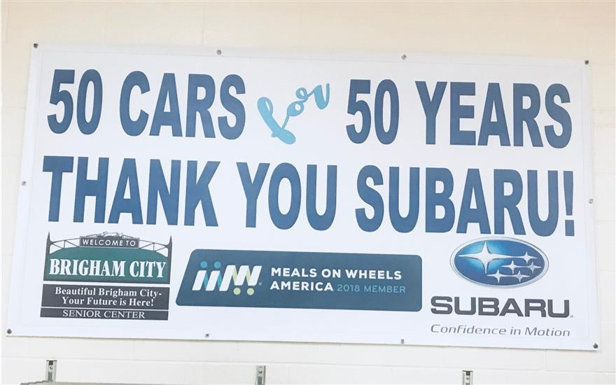 Subaru Delivers More Than A Meal