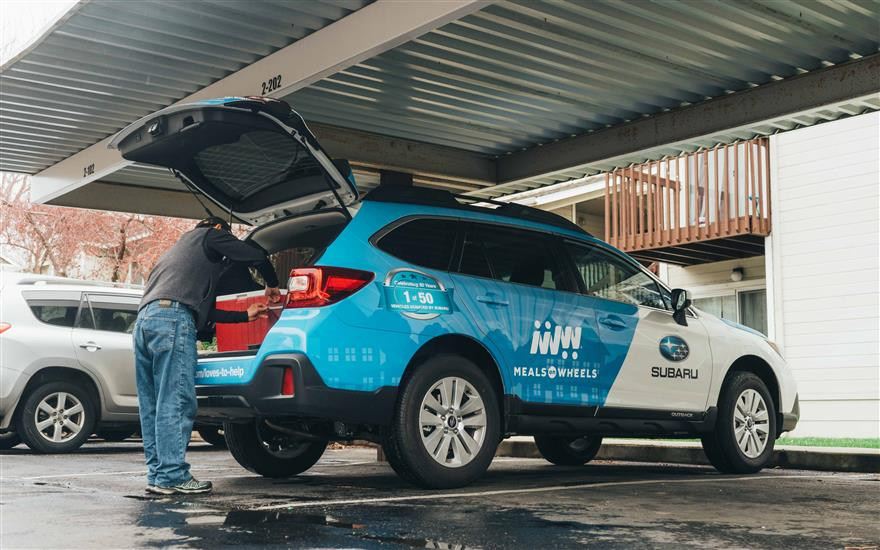 Meals on Wheels Delivered in New Subaru