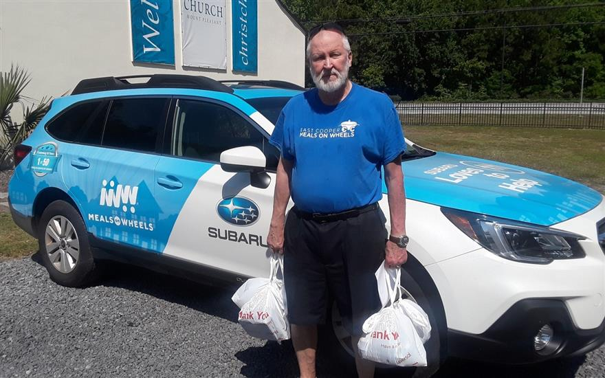 Subaru aids Meals on Wheels patients after surgery