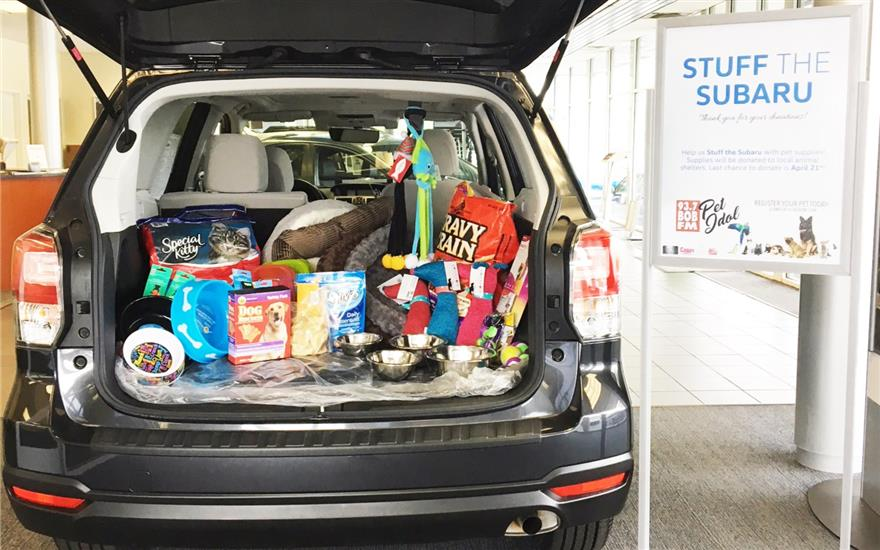 Stuff The Subaru Event