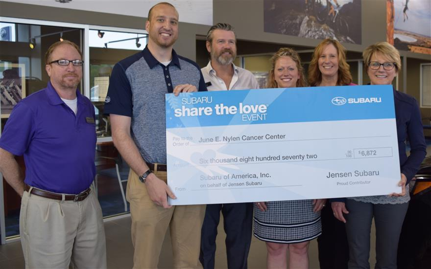 Share the Love with the Nylen Cancer Center