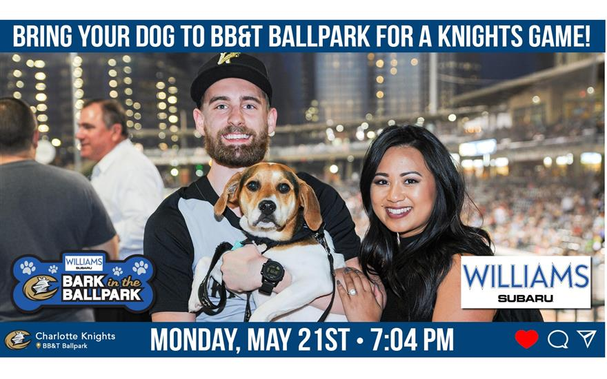 Williams Subaru Sponsors Bark in the Ballpark