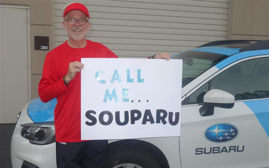 Our Subaru has a new nickname!