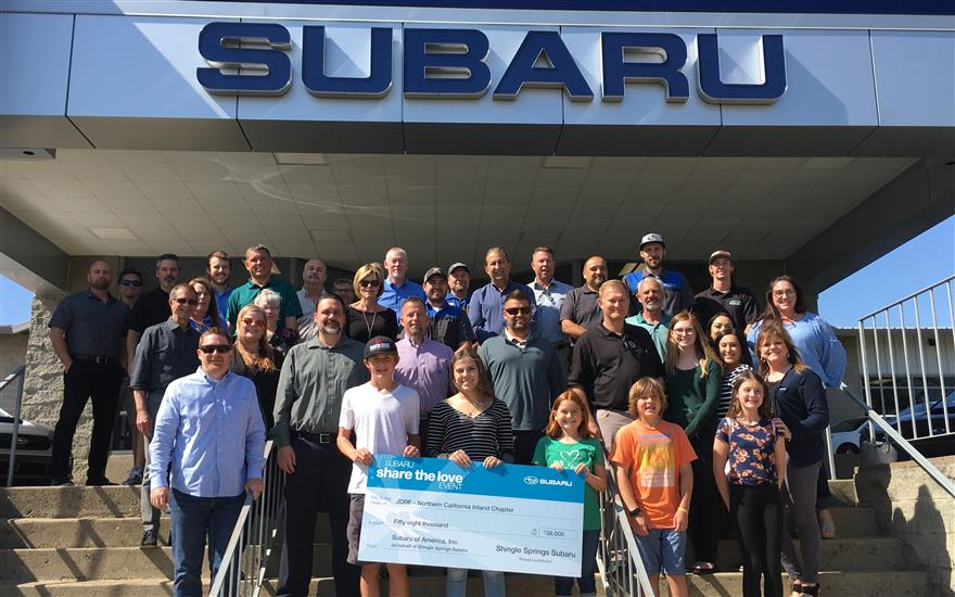 Shingle Springs Subaru Fund Type1 Diabetes Research