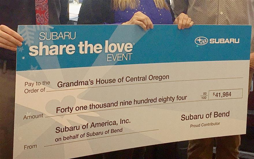 Subaru of Bend Shared the Love with Moms & Babies