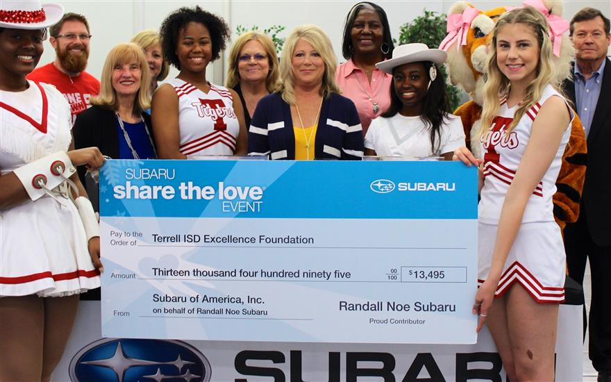Share the Love benefits the Excellence Foundation