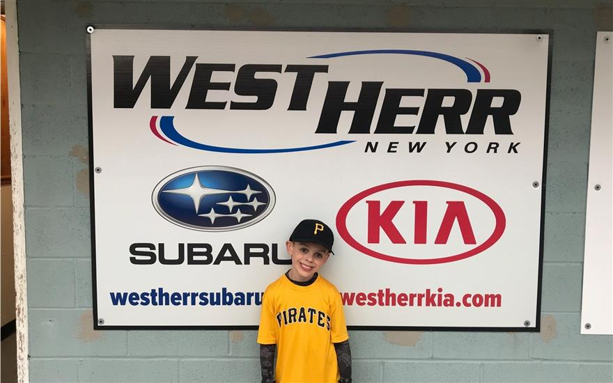 West Herr Subaru Sponsors Local Baseball League