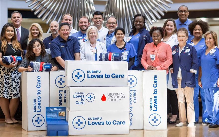 Sewell Subaru Partners with LLS of North Texas