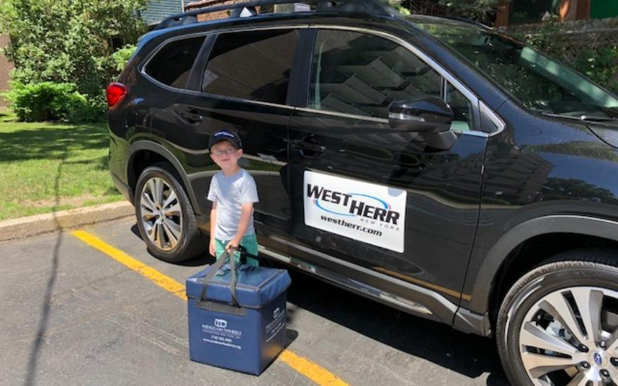 West Herr Subaru does meal deliveries!