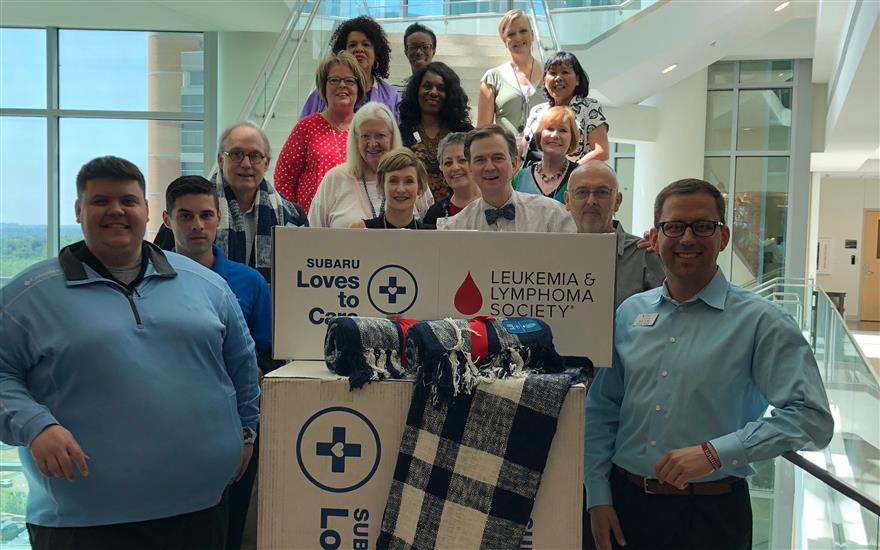 HOPE, LOVE & WARM BLANKETS TO CANCER PATIENTS