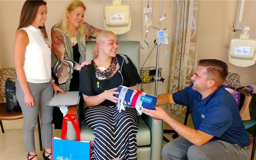Subaru supports local Cancer patients.