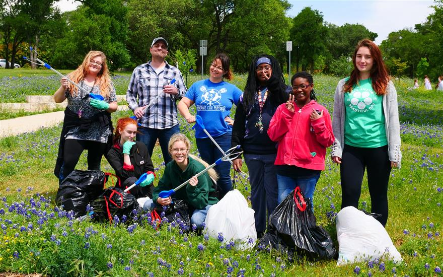 Keep Austin Beautiful Day Park & Trail clean up