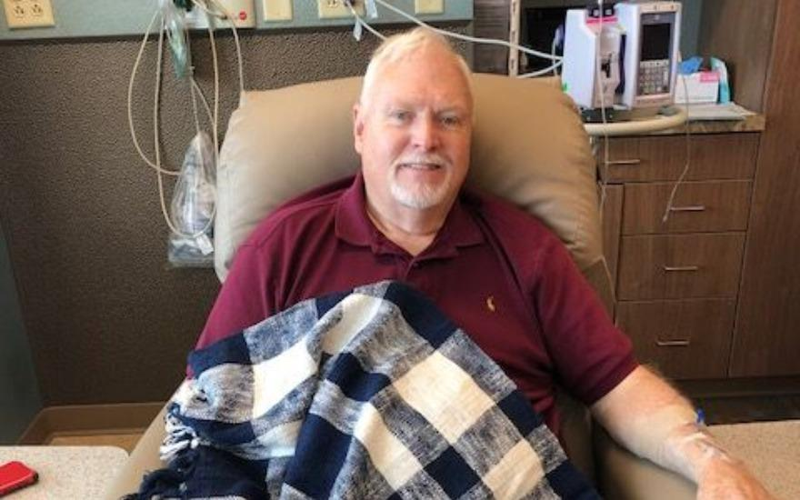 Blanket Delivery to Cancer Patients