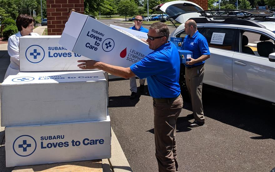 A & T Subaru Loves to Care at Grandview Hospital