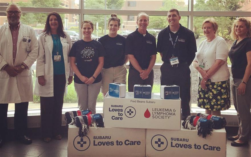 Fred Beans & Doylestown Hospital Love to Care!