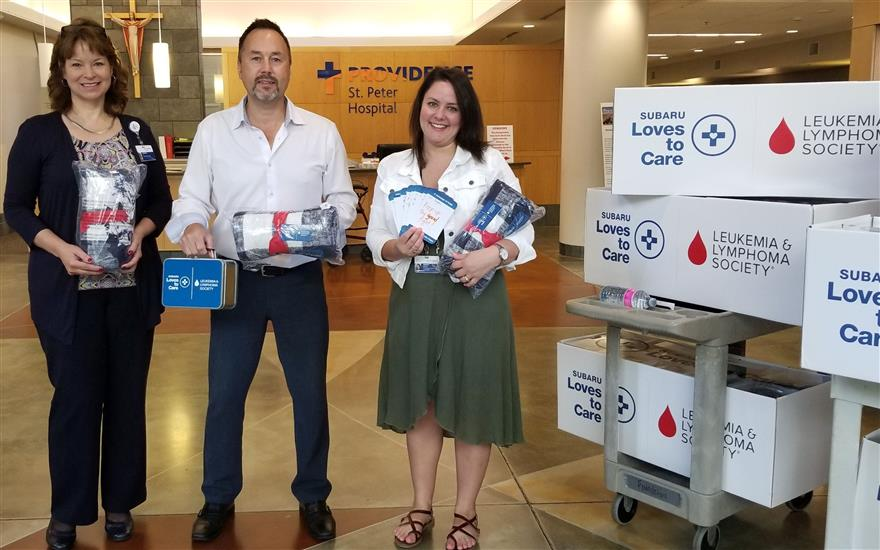 Hanson Subaru Loves To Care For Cancer Patients