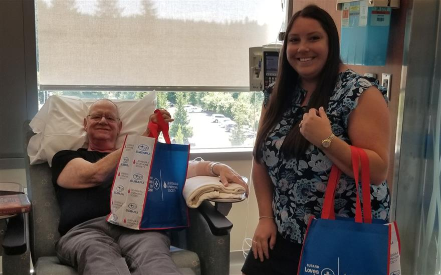 Peninsula Subaru Loves to Care for Cancer Patients