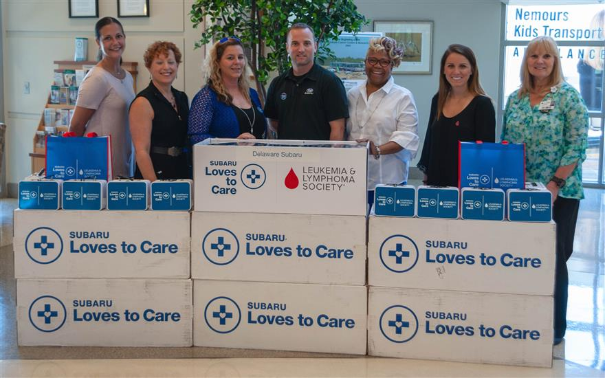 DE Subaru Teams With Leukemia & Lymphoma Society