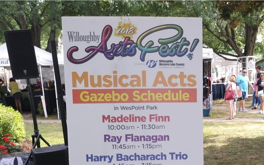 27th Annual Willoughby ArtsFest