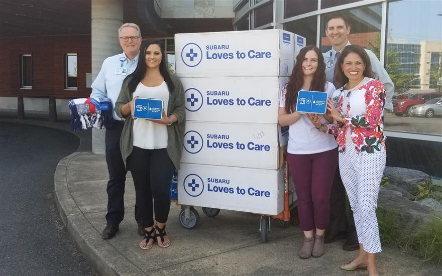 Puyallup Subaru Loves To Care For Cancer Patients
