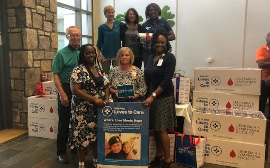 Subaru Delivers Warmth and Hope to Cancer Patients