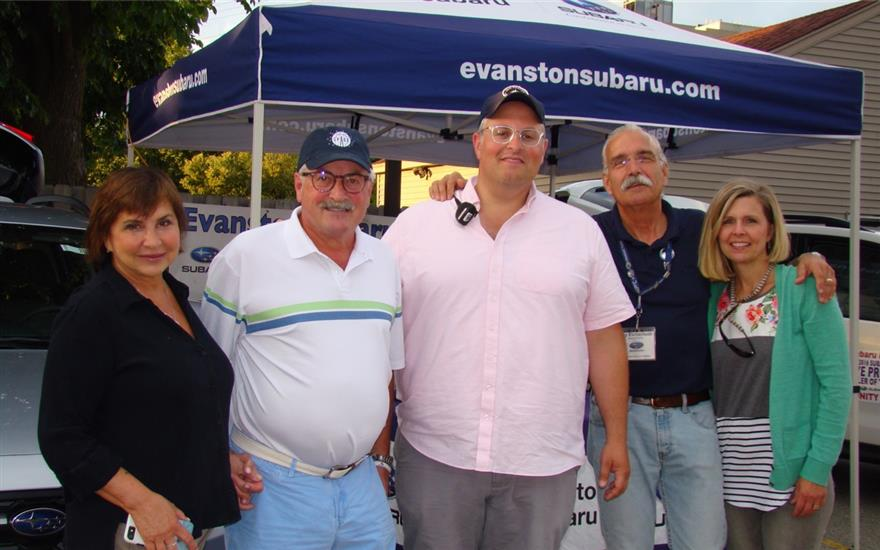 Evanston Subaru Gives Back to the Community