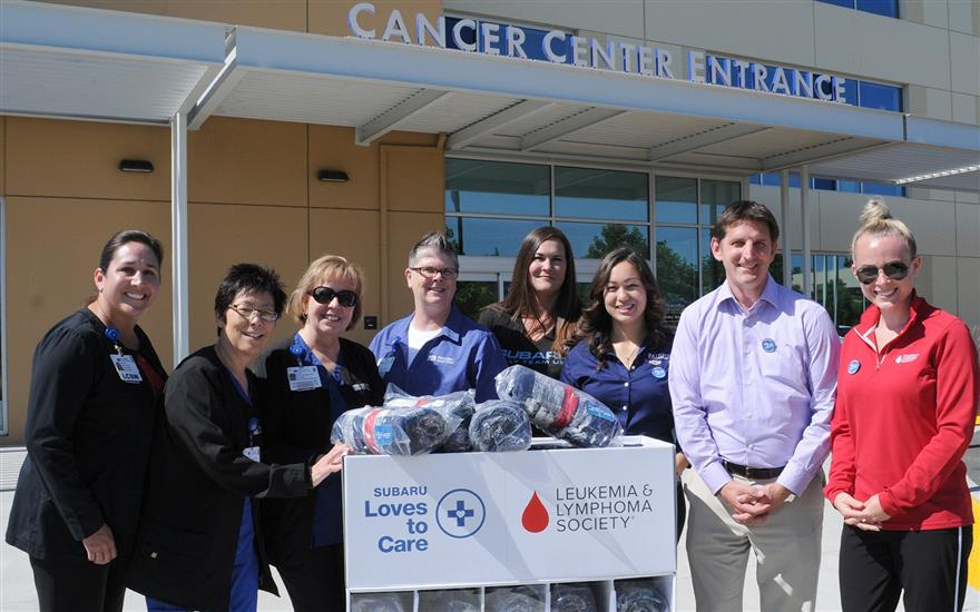 Fairfield Subaru and LLS Blanket Delivery