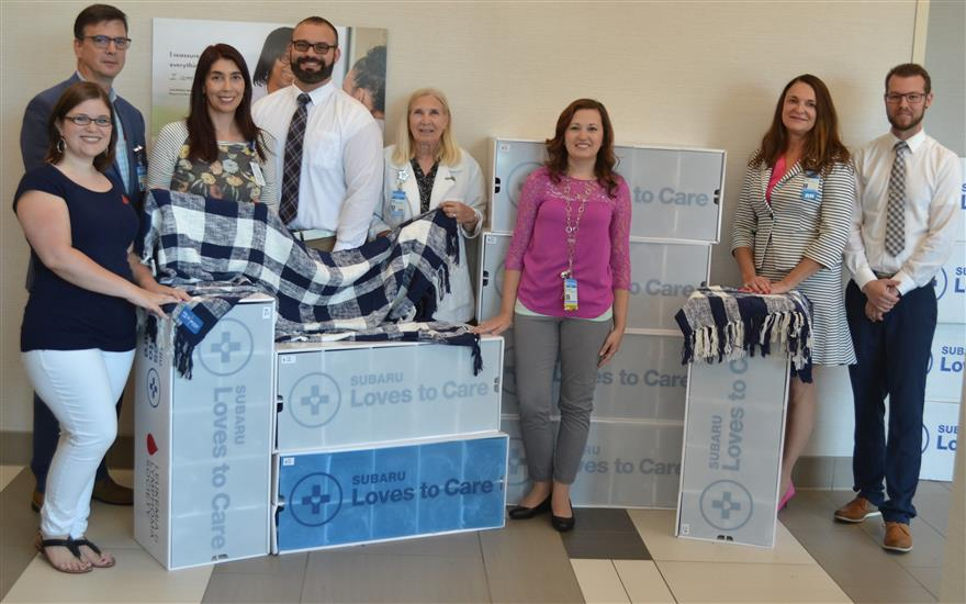 A Warming Gesture for Cancer Patients