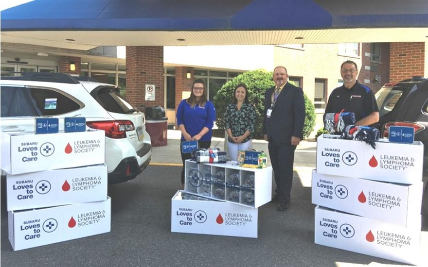 Thomas Subaru Delivers Hope to Cancer Patients