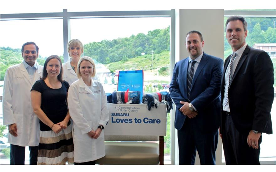 Cochran Subaru's 3-Peat for Cancer Patients