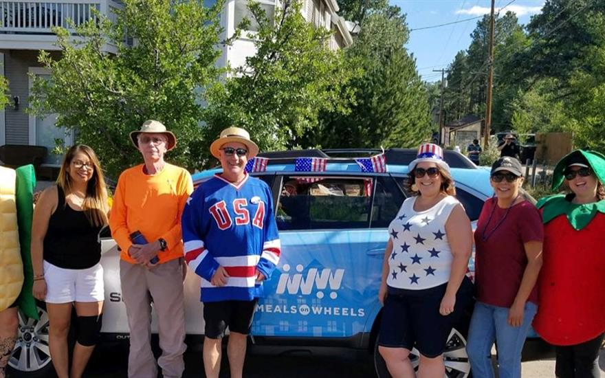 Subaru shows up in the Annual 4th of July Parade