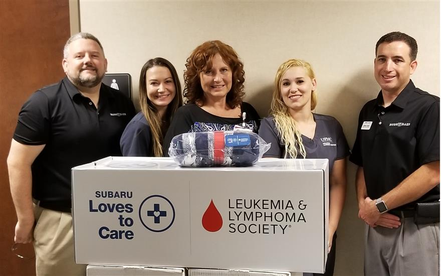 Budd Baer Subaru's 3-Peat for Cancer Patients