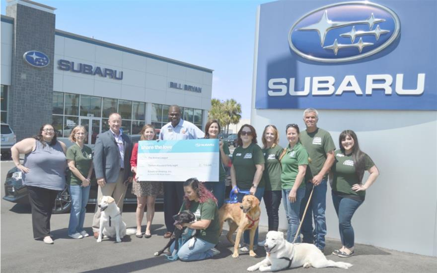 Bill Bryan Subaru Supports Homeless Pets!