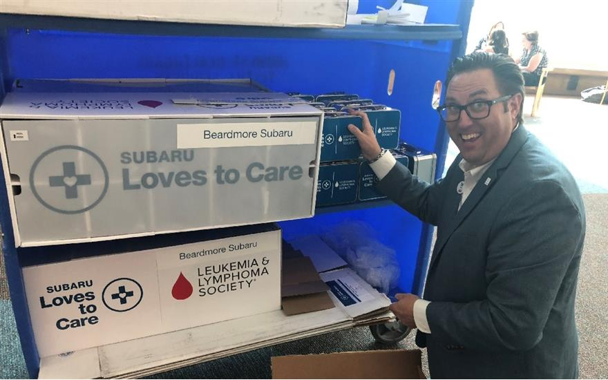 Beardmore Subaru Shares the Love - Close to Home
