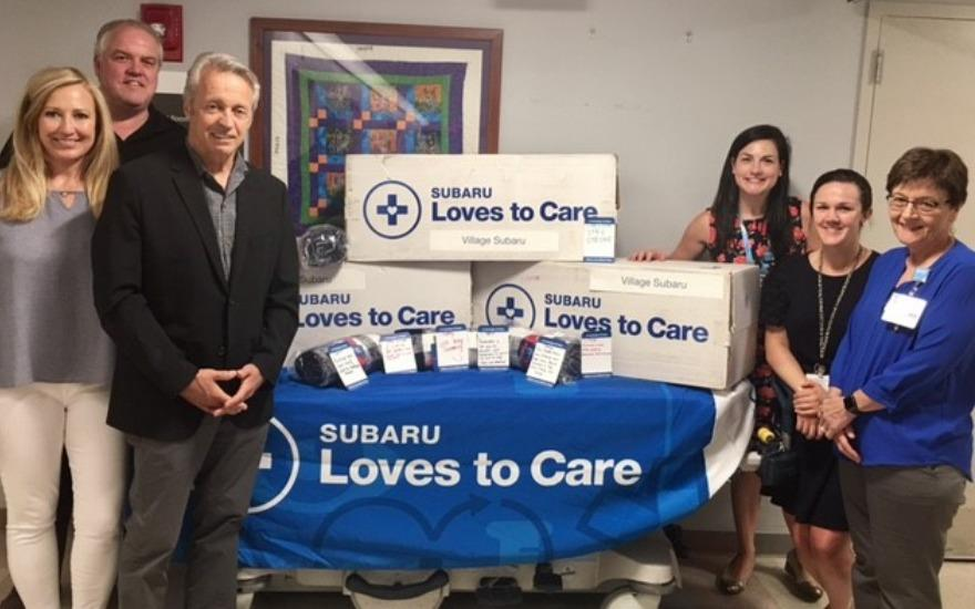 Subaru Loves to Care Donation
