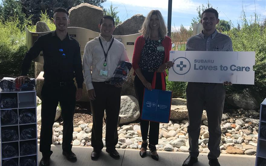 Subaru of Spokane Loves Caring For Cancer Patients