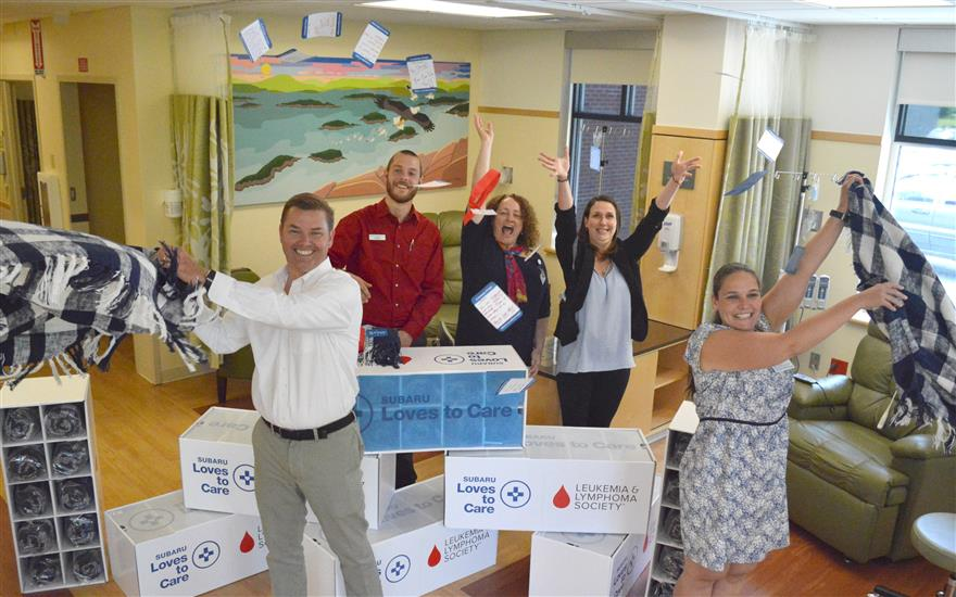 Helping the Mary Dow Center for Cancer Care