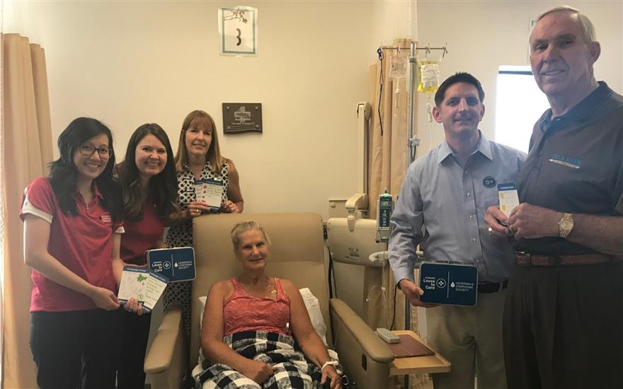 Subaru Donates Blankets to Local Patients with LLS