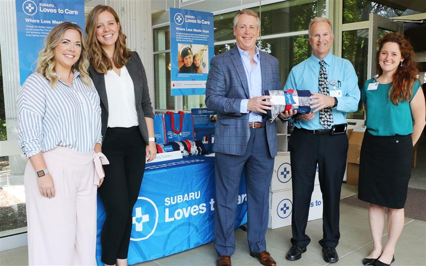 Koenig Subaru Loves to Care for Cancer Patients