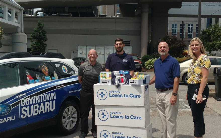 Subaru/LLS Love to Care Blanket Delivery