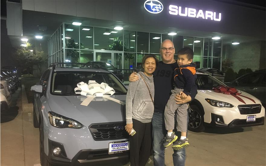 Modesto Subaru Shares the Love