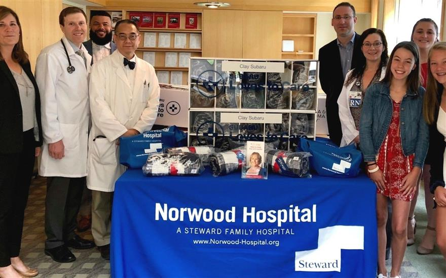 Subaru Loves to Care-Norwood Hospital