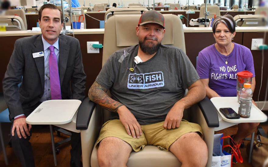 Sharing the Love with Cancer Warriors