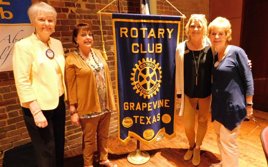 We the Ladies of Grapevine Rotary