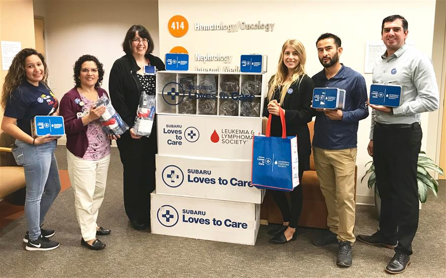 Irvine Subaru Loves to Care at Kaiser Permanente