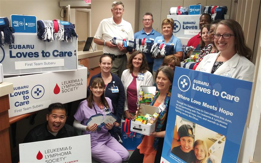 SUBARU/LLS BLANKETS AND WARMTH TO CANCER PATIENTS