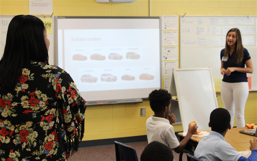 Hughes Subaru loves to Learn with Alps Road!
