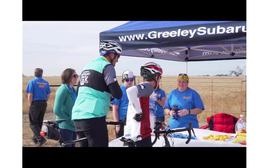 Greeley Subaru's sponsorship of Ride4Success