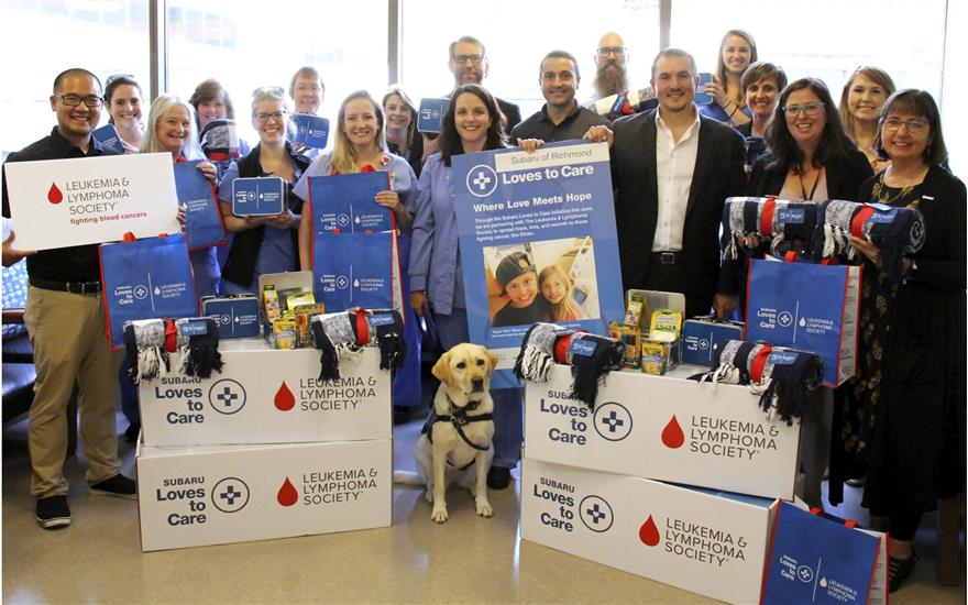 SUBARU/LLS BLANKETS FOR CANCER PATIENTS
