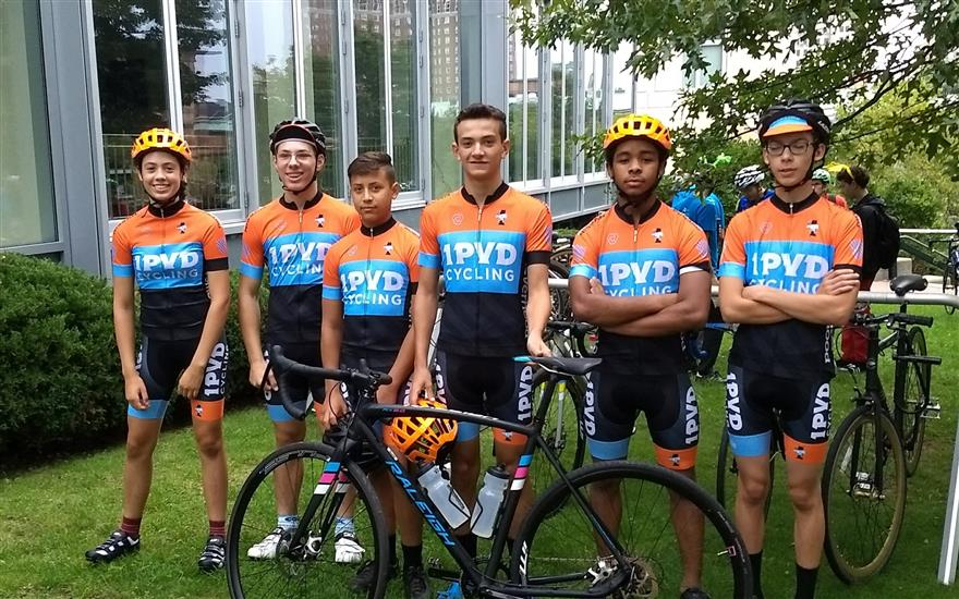 Sharing the Love with 1PVD Cycling